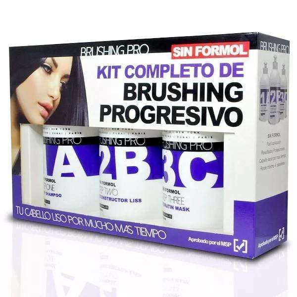Kit de Brushing Progresivo BRUSHING PRO 300ML Sin Formol en Beauty Supply
