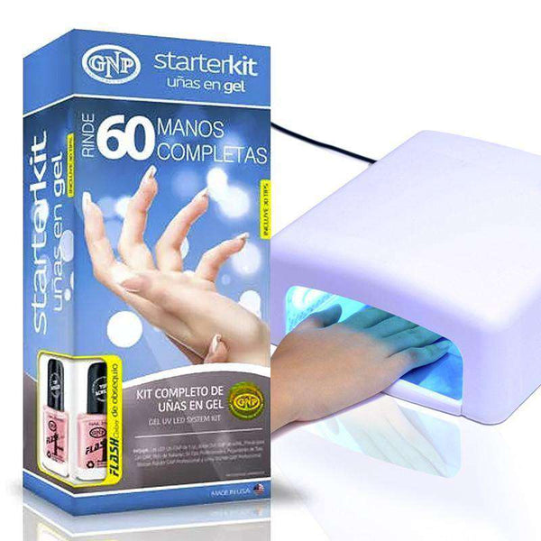 GNP Kit de uñas en Gel Gnp con Lampara UV de 36 watts