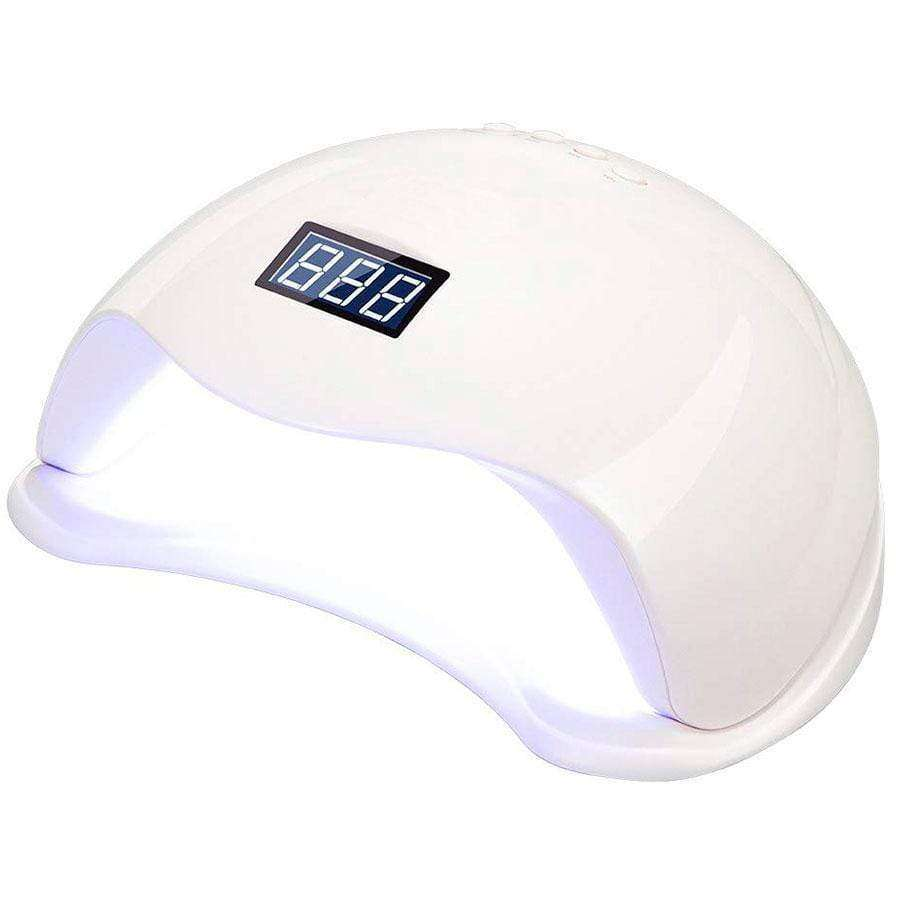 Lampara UV LED GNP SUN5 48W con Timmer y Sensor. en Beauty Supply