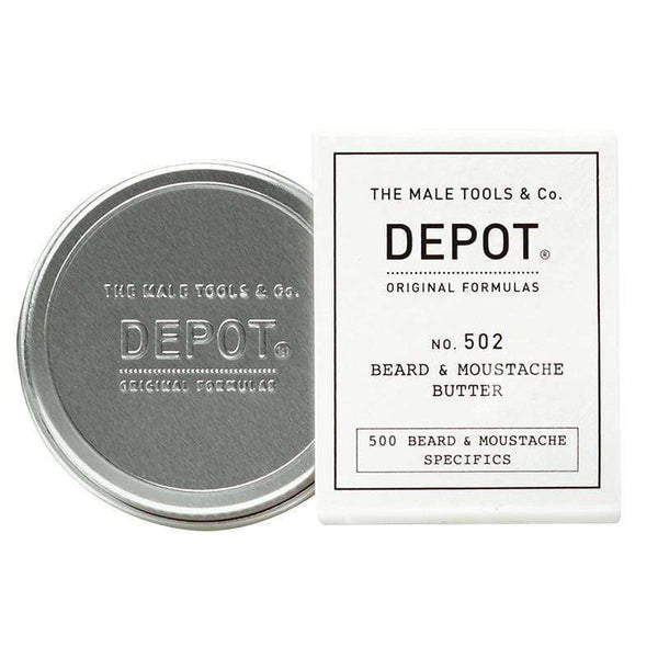 Manteca de barba y bigote Depot no.502 30ML Suavizante en Beauty Supply