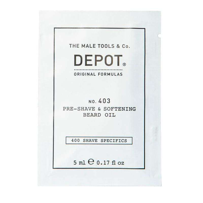 Monodosis DEPOT de Aceite para Barba 403 en Beauty Supply