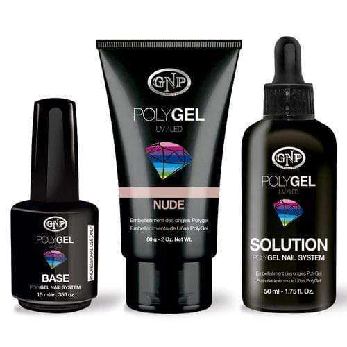 GNP Nude Pomo de Polygel GNP 60gr, Solution 50ml y Base 15ml