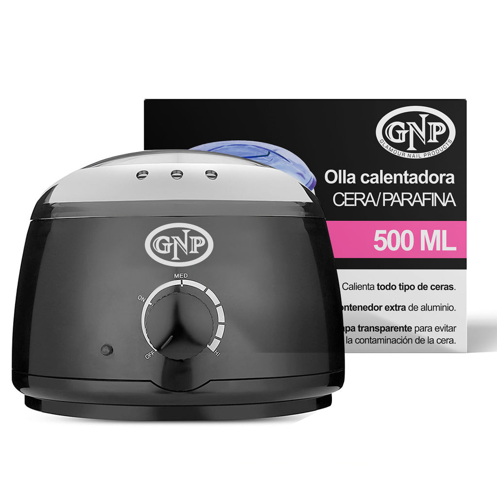 Olla Fundidora GNP de Cera / Parafina Con Termostato 500ML en Beauty Supply