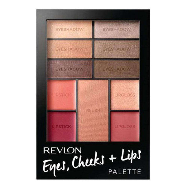 Paleta todo en uno Revlon Eyes, Chicks & Lips Palette Romantic Nudes en Beauty Supply