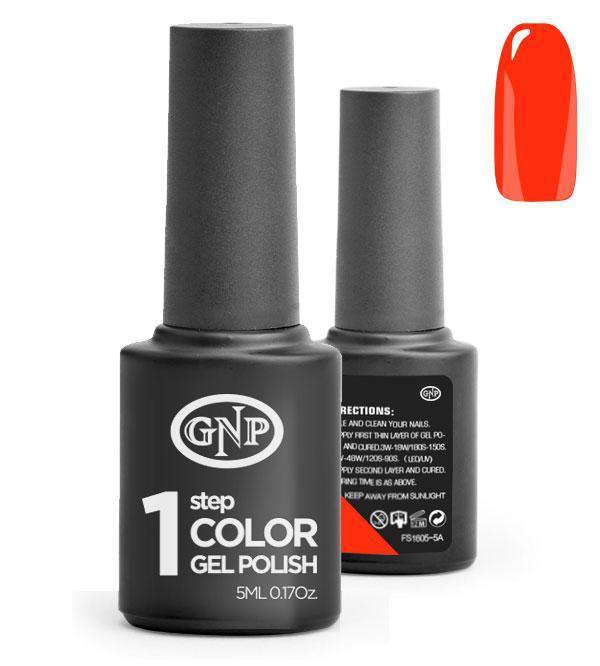 Esmalte Permanente en Gel GNP de un solo paso! #80 Red Vival en Beauty Supply