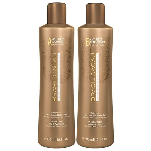 Kit Mantenimiento BRASIL CACAU Antifrizz Shampoo y Acondicionador en Beauty Supply