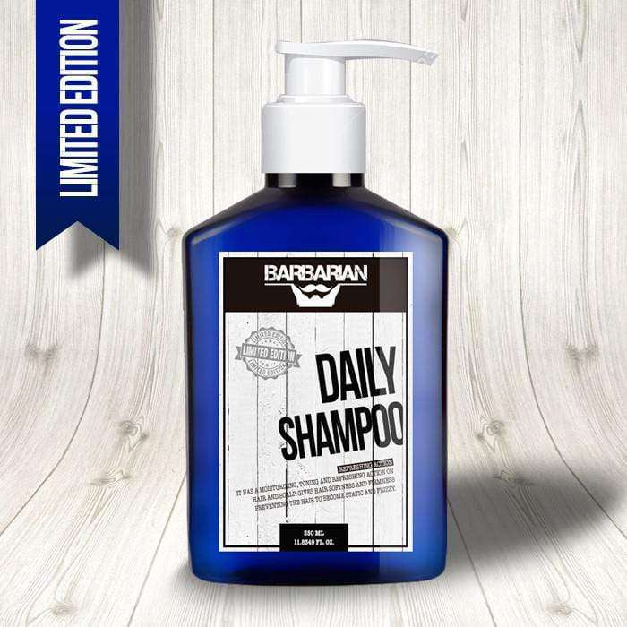 AMINCO Group Shampoo Barbarian para Hombres Cabello/Barba Daily Shampoo 350ML