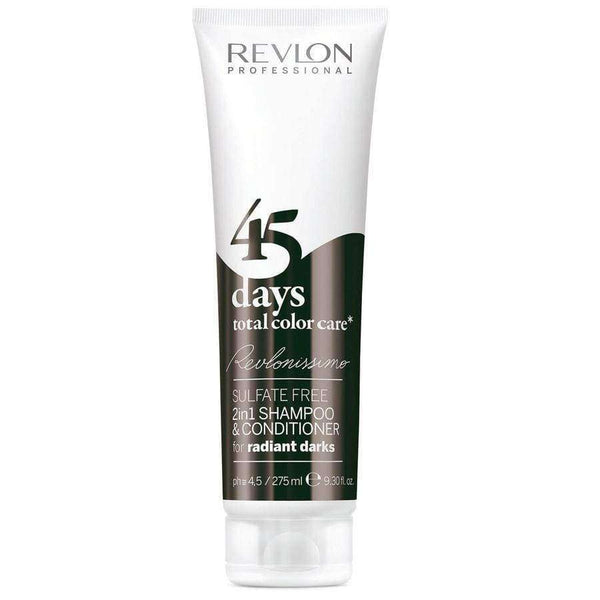 Shampoo Revlon REVLONissimo 45 Days 2en1 Radiant Darks 275ML en Beauty Supply
