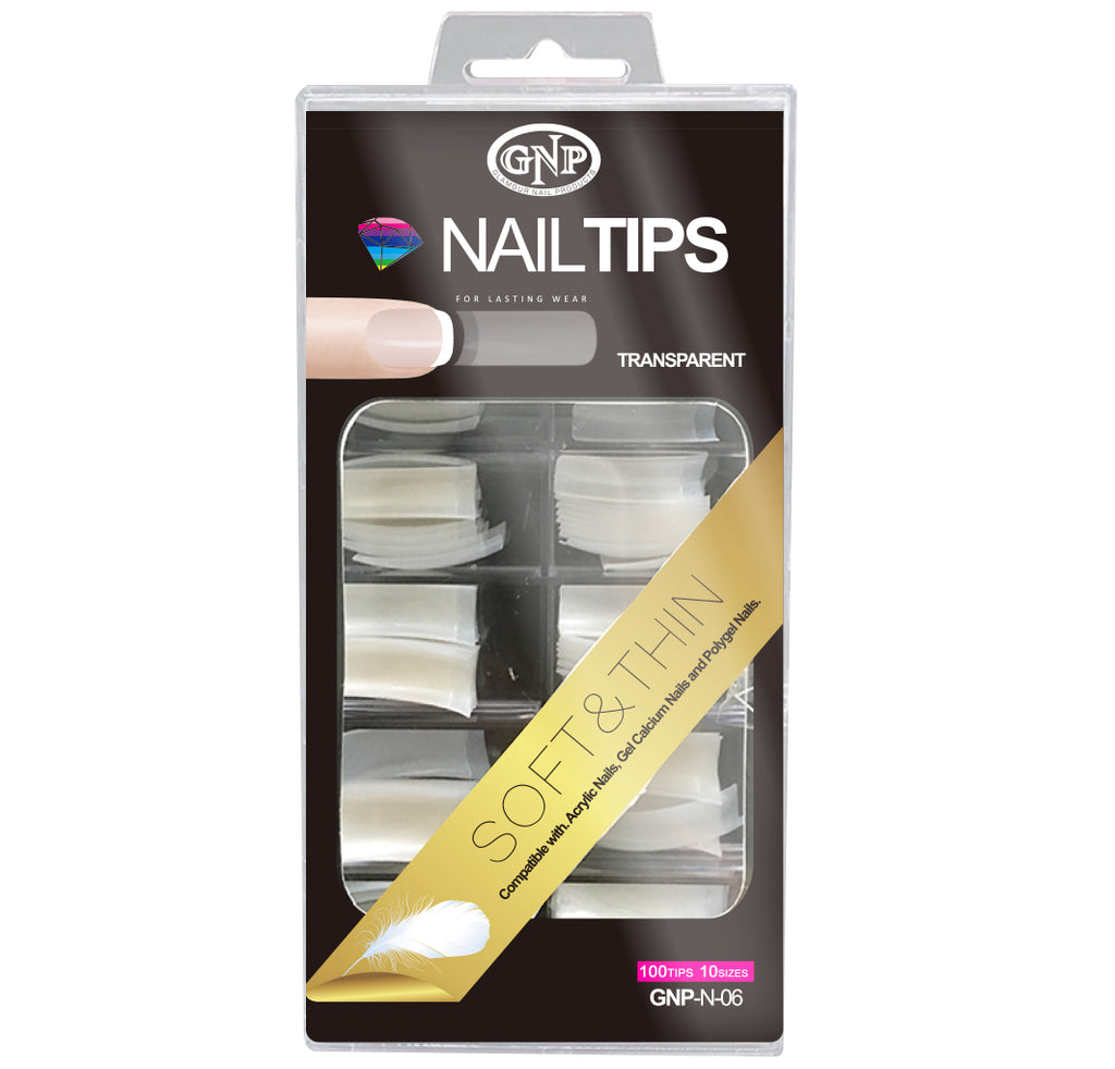 Tips Profesional Nail Tips GNP 100uni en Beauty Supply