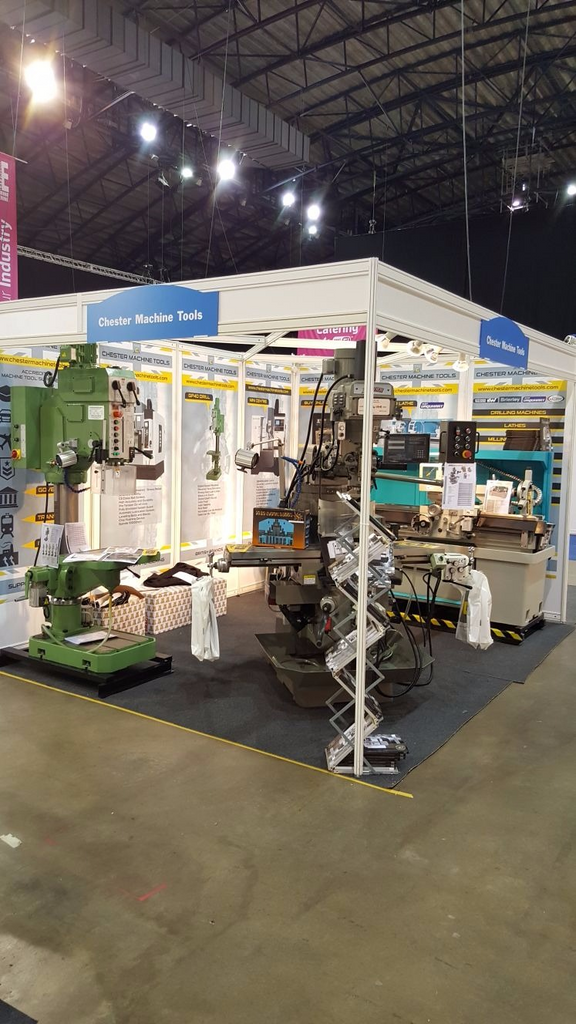 Chester Machine Tools @ The Manufacturing & Engineering Show North East