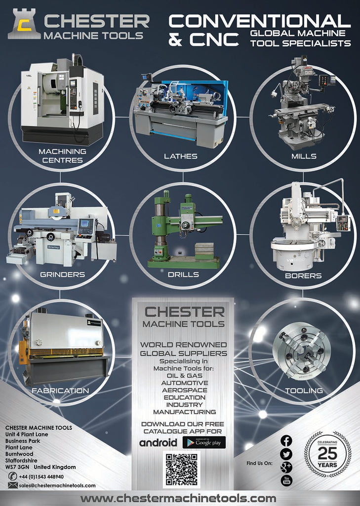 Premium Range of Conventional and CNC Machine Tools