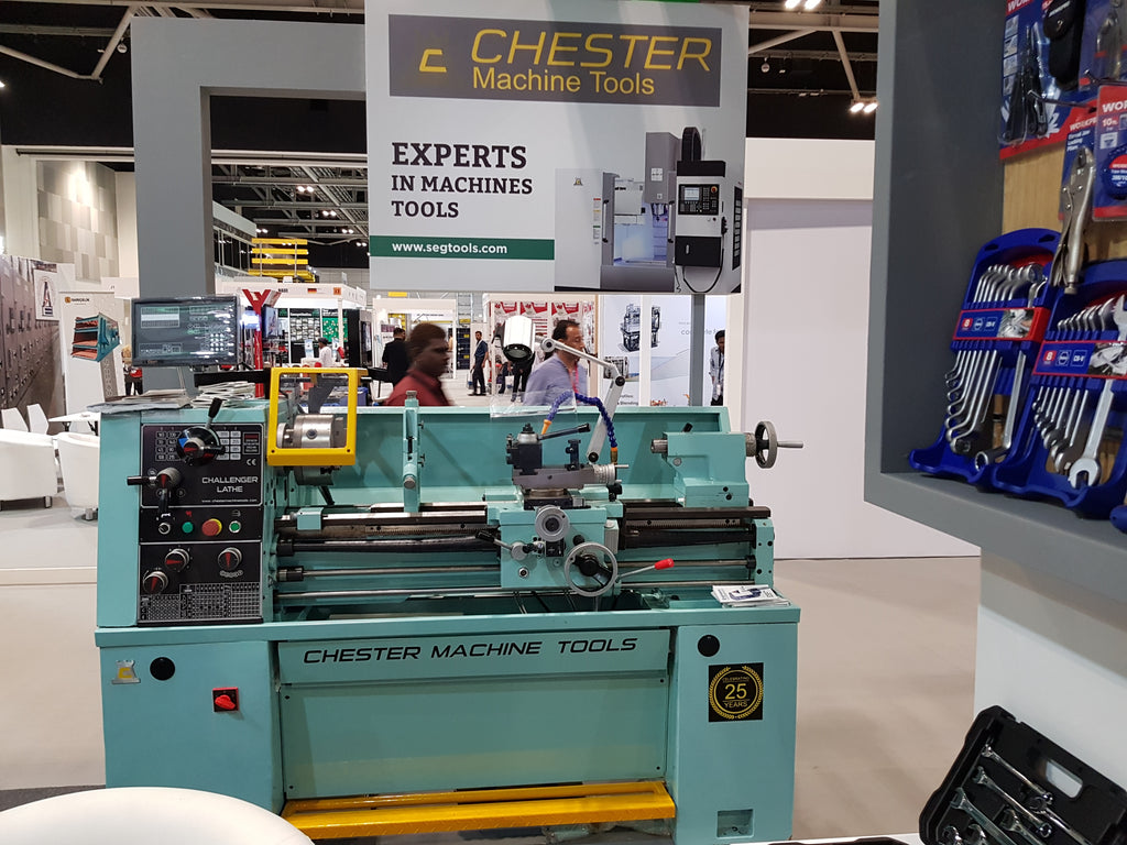 Chester Machine Tools Exhibit at INFRA 2017 in Oman