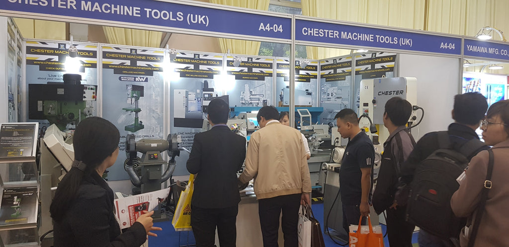 Busy Days at MTA-Hanoi for Chester Machine Tools
