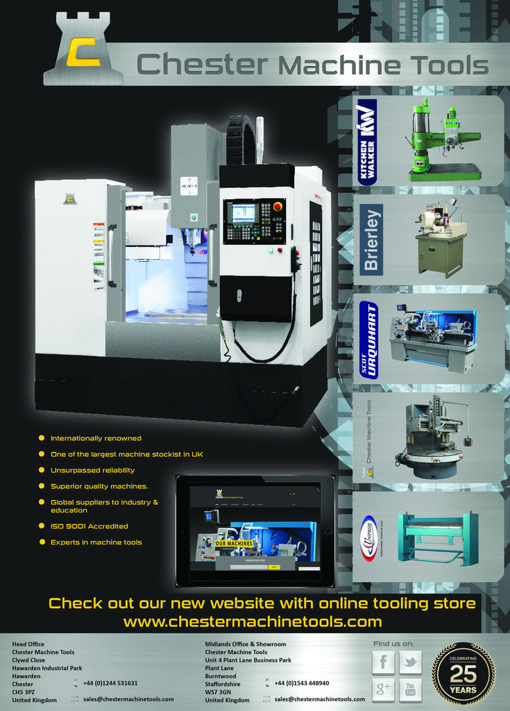 Chester Machine Tools Latest Ad