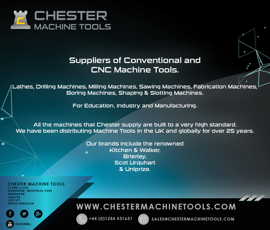 Chester Machine Tools - The Range