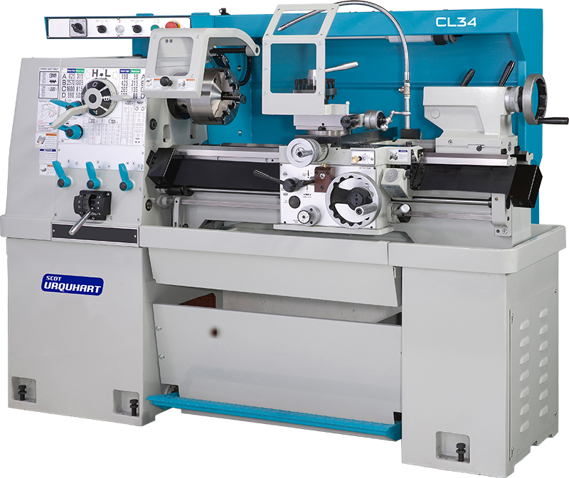 Chester Machine Tools Range of Scot Urquhart CL Lathes