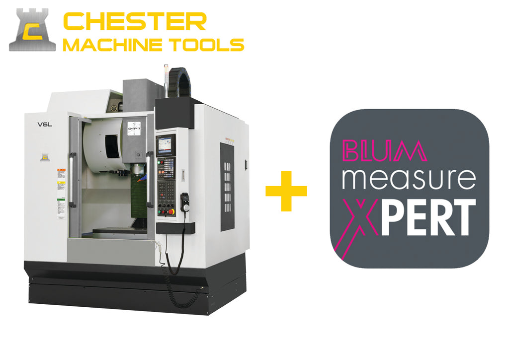 Chester Machine Tools V6L CNC Machining Centre with BLUM Probe Technology