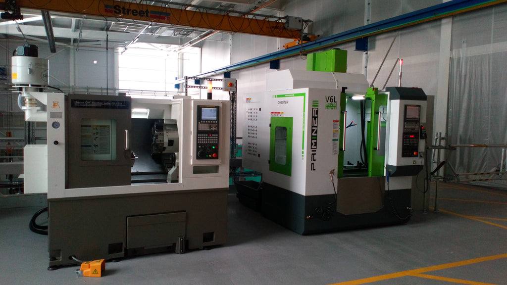 Chester Machine Tools install CNC Machines at Brunel University