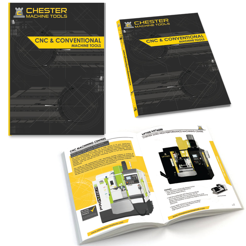 Chester Machine Tools Launch 26th Edition of The Industrial Catalogue