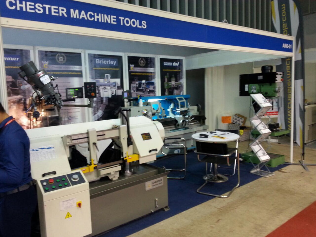 Chester Machine Tools Exhibit at MTA Vietnam 2017