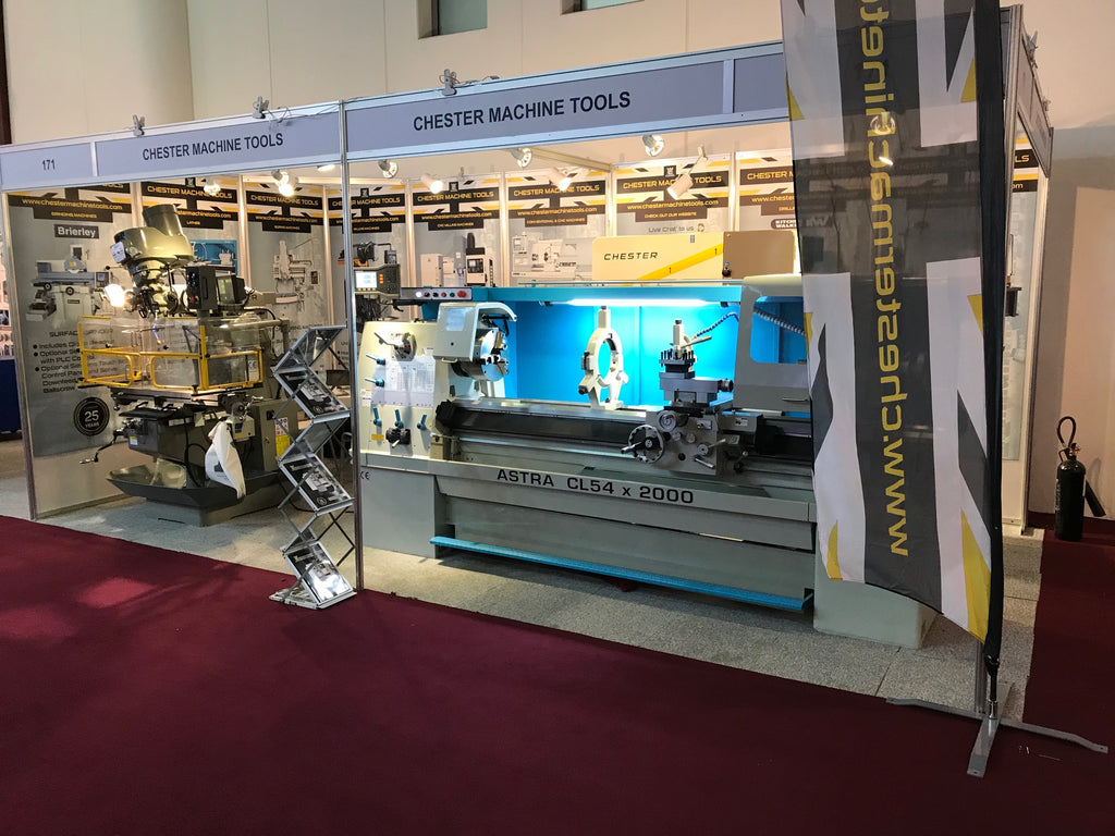 Chester Machine Tools Exhibit at SteelFab 2018 Expo Centre - Sharjah