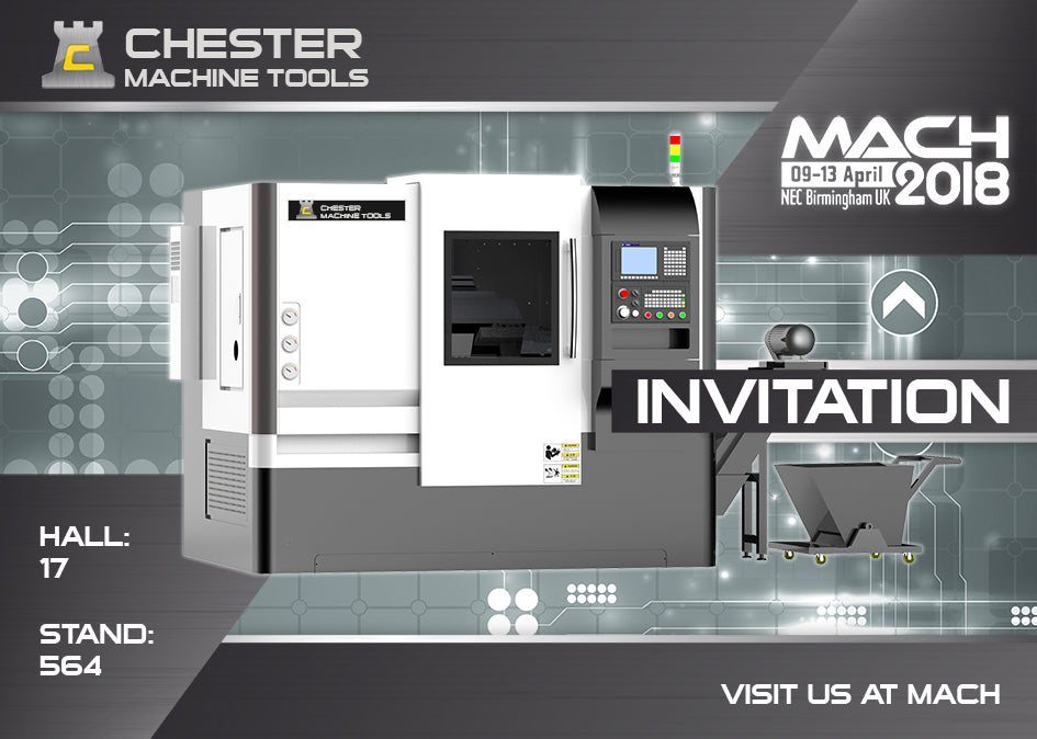 You Are Invited To Visit Us at MACH 2018