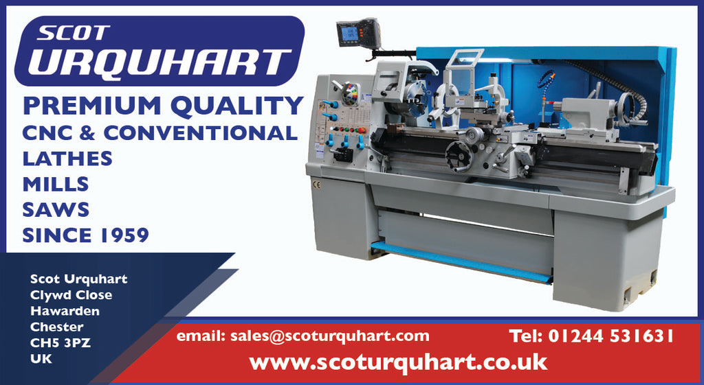 Scot Urquhart - Premium Quality Lathes, Mills and Saws