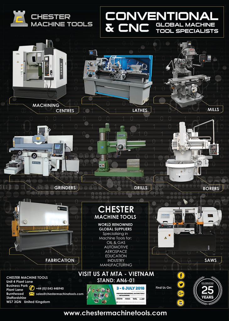 Conventional & CNC Machine Tool Export Specialists