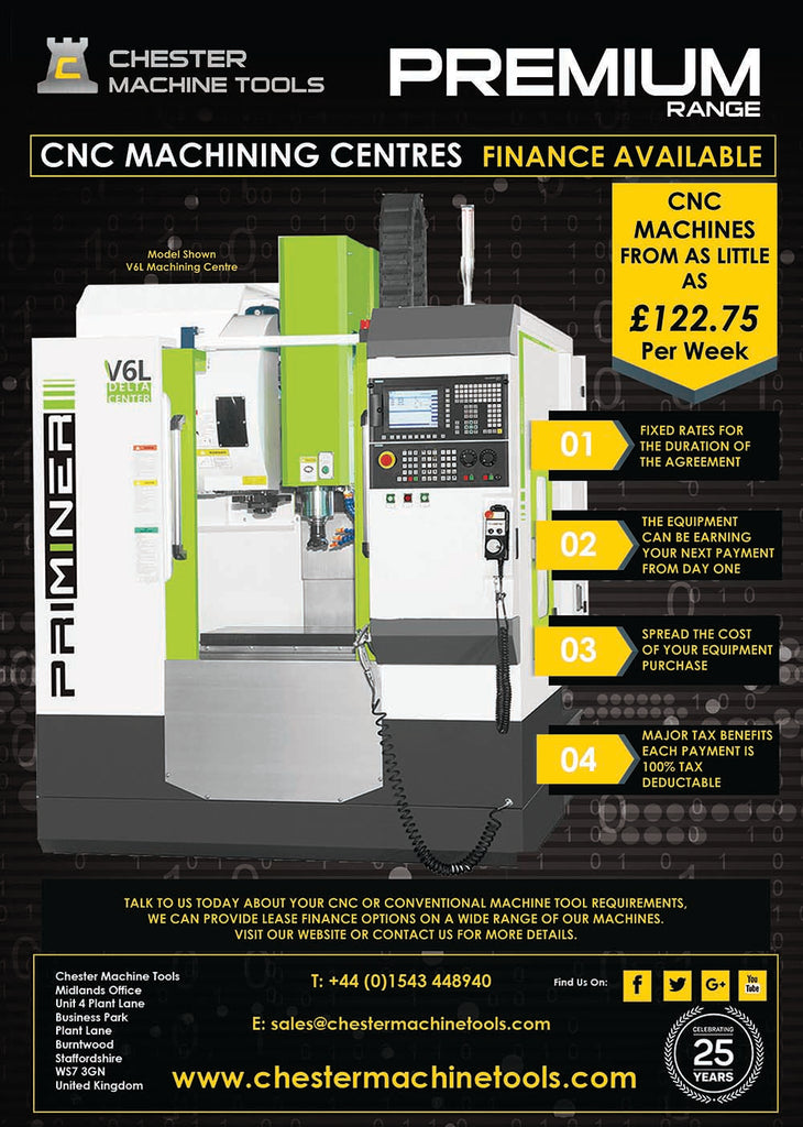 Lease Finance Options available on CNC & Conventional Machine Tools