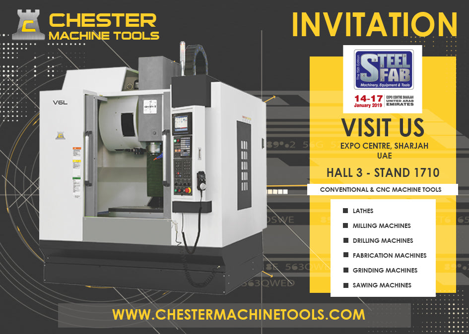 Your Invitation to Visit Our Stand at SteelFab 2019