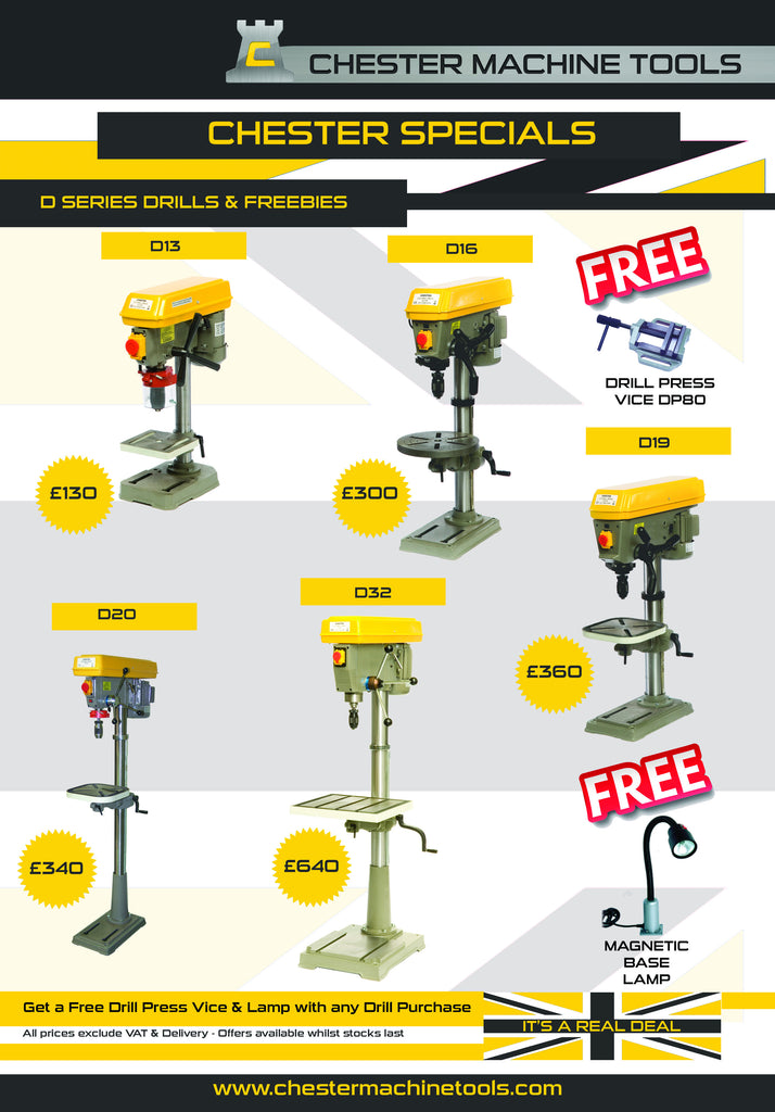 Current Special Offer - D Series Drill & Freebies