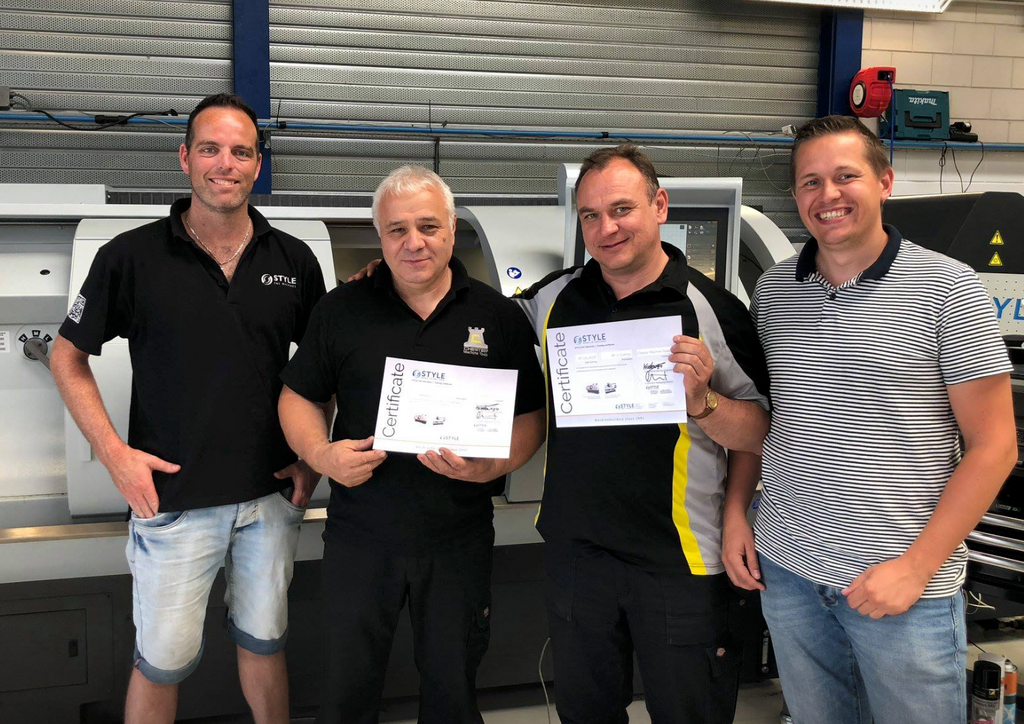 Chester Engineers complete STYLE CNC Training