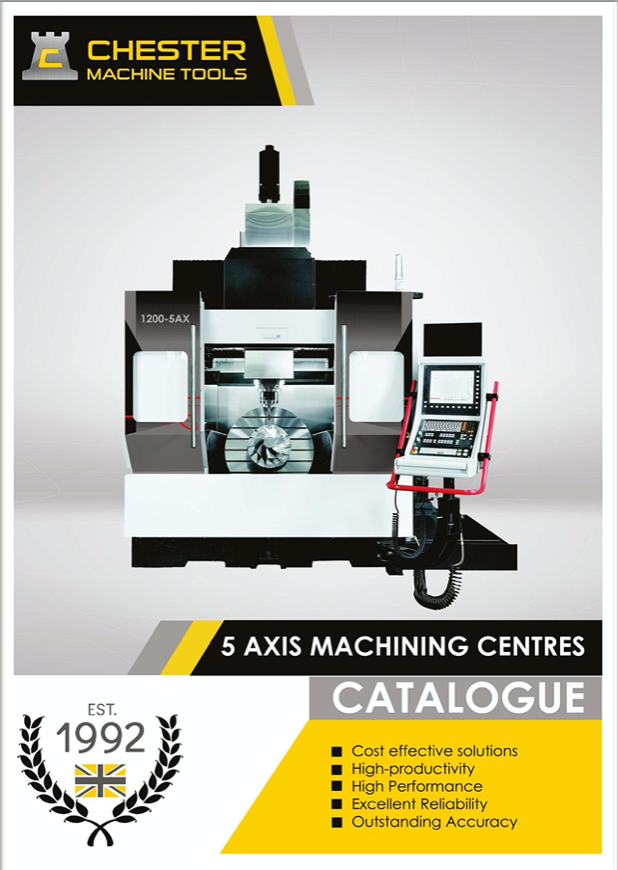 High Performance 5 Axis Machining Centres