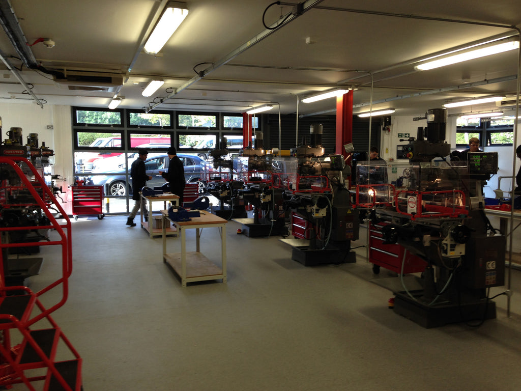 Chester Machine Tools & Education Project Installations