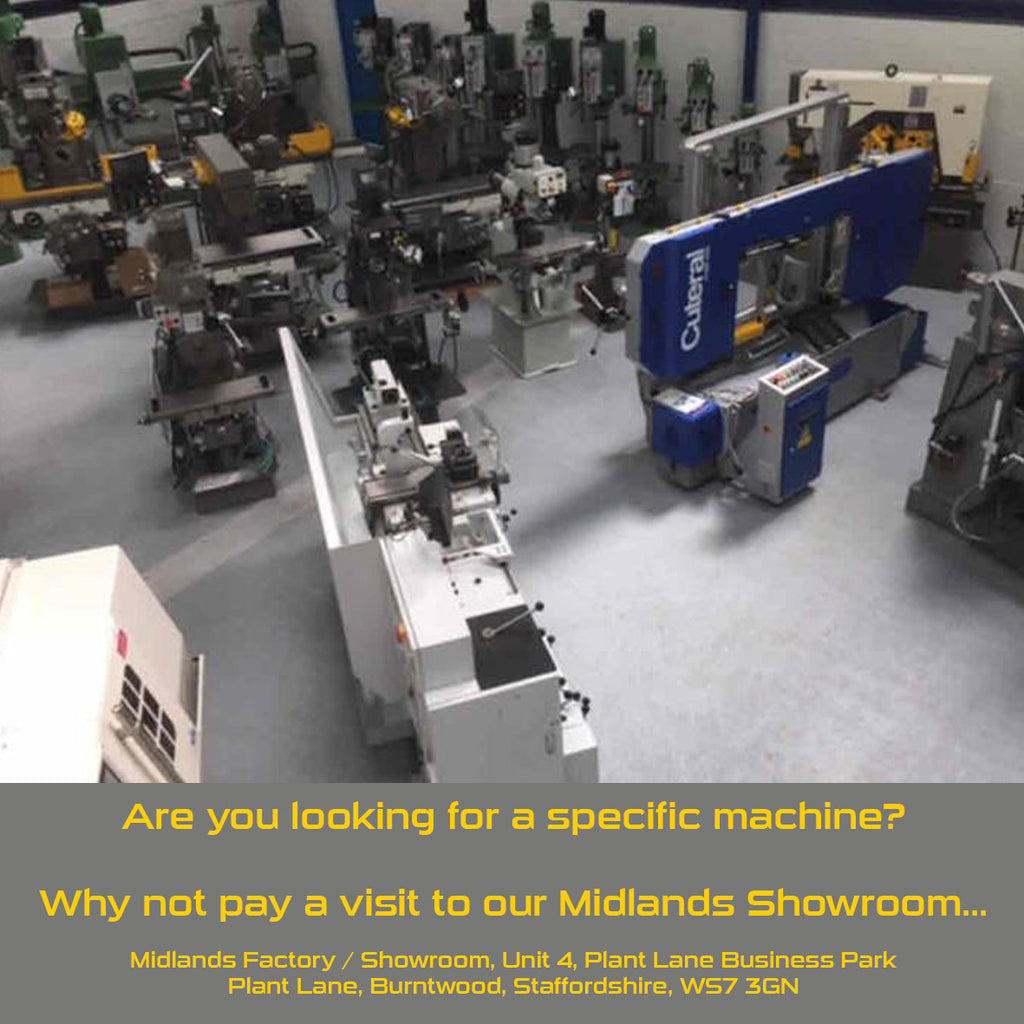 Visit Our Showroom and See Our Machines