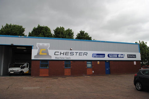 Chester Machine Tools Showroom