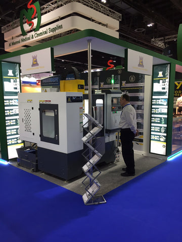 Chester Machine Tools at GESS Education Exhibition
