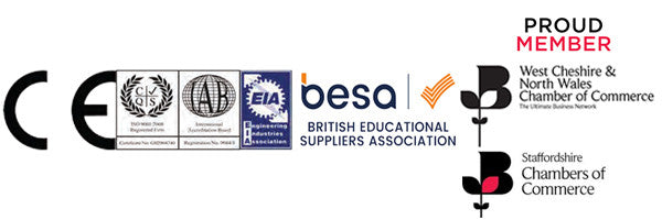 CE Certified, Members of BESA, EIA