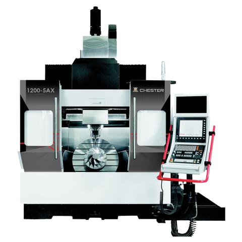 CHESTER 1200-5AX 5 AXIS MILLING MACHINE