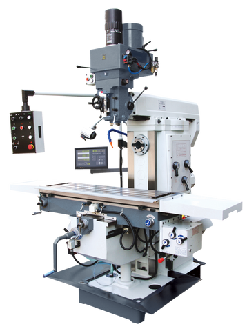 1466 SUPER CHESTER TURRET MILLING MACHINE - Chester Machine Tools