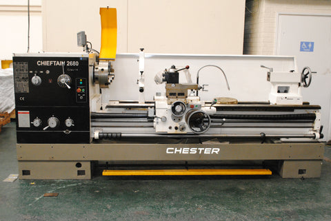 Chieftain 2680 Lathe - Ex Showroom Demonstration Machine - Chester Machine Tools