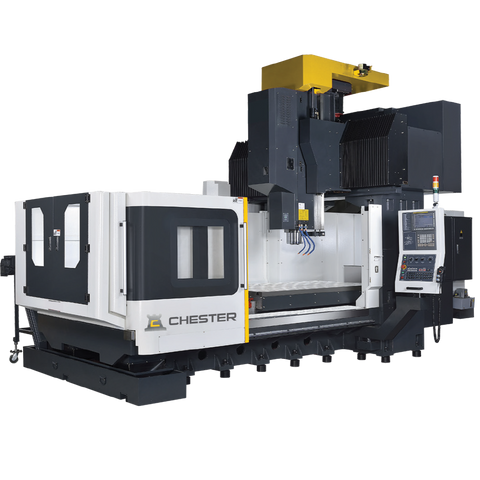 CHESTER DM-120 DOUBLE COLUMN MACHINING CENTRE WITH ATC