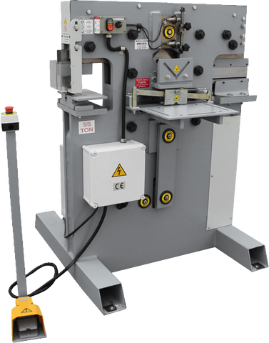IW SERIES CHESTER HYDRAULIC PUNCH & SHEARS - Chester Machine Tools