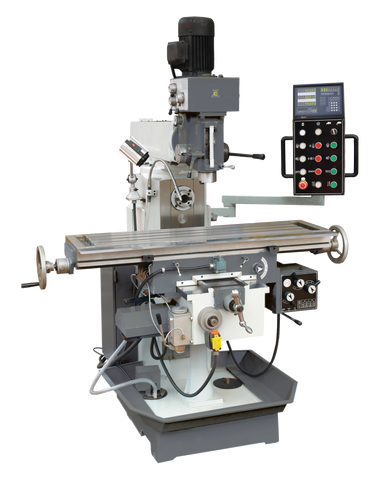 MODEL T SUPER CHESTER UNIVERSAL MILLING MACHINE - Chester Machine Tools