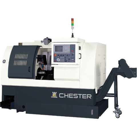 CHESTER TS SERIES CNC TWIN SPINDLE SLANT BED LATHES