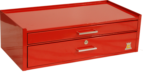 RED HEAVY DUTY TOOLBOX - TOPBOX - TBT2002