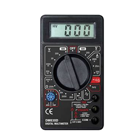 MULTIMETER - DM830D - Chester Machine Tools