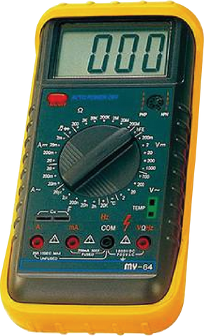 MULTIMETER - MY64A - Chester Machine Tools