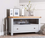rustic grey & oak range