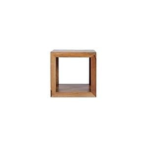 The Furniture House 1 Hole display unit Mango Wood 1 Hole Unit